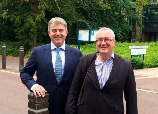 Minister visits Accordia in Cambridge