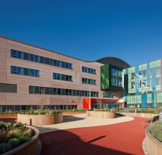 New Alder Hey hospital in Liverpool opens with integrated landscape