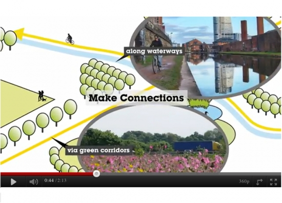 Freeze frame: a still from 'Invest in Green Infrastructure'