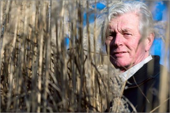 Celebrated planting designer Piet Oudolf. Photo: University of Sheffield