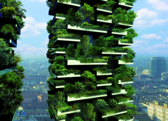 Tree house: green cities are the future