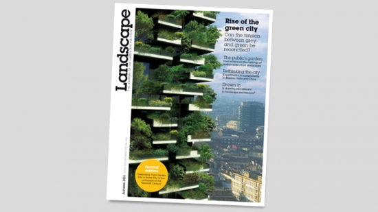 Autumn 2011 issue of Landscape