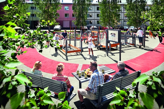 Seniors-focussed parks could support healthier ageing