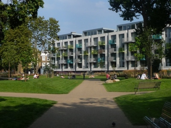 Arundel Square, Islington by Remapp
