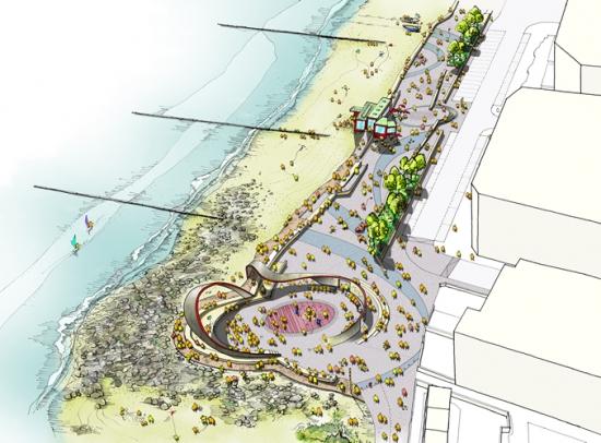 The design proposals.