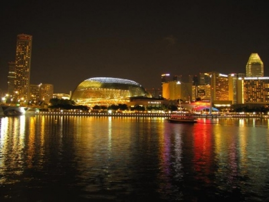 Singapore's Esplanade district