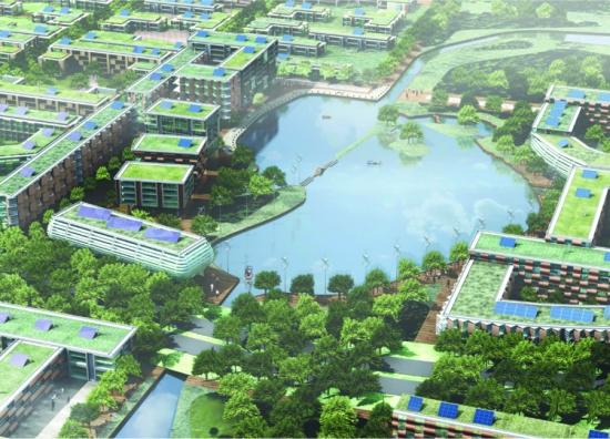 Dongtan Eco City, China 2007