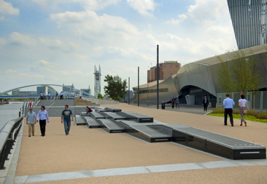 Quay designs: the quayside in front of the IWMN
