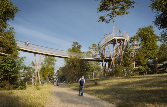 Treetop walkway promises added excitement at National Arboretum