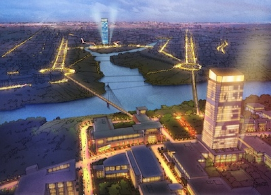 Several UK firms are behind the winning designs for Moscow's new Federal District