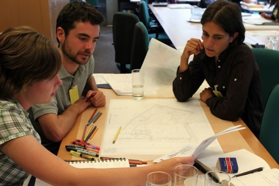 Winning landscape architecture students discuss their plans