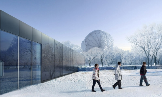 The Discovery Centre at the Jodrell Bank Observatory