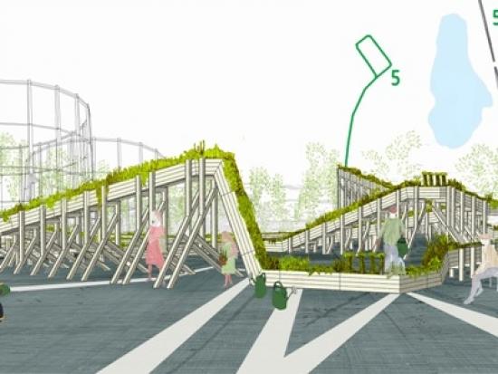 Wayward Plants' design for Helsinki