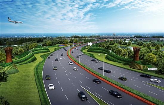 Weddle Landscape Design's plans for Ningbo Airport