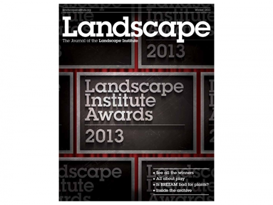 Winter 2013 Landscape journal